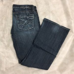 """Big Star """"Sweet"""" Low Rise Boot Cut Jeans"""